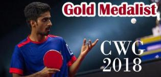 Sathiyan Gnanasekaran Wins Gold Medal in Commonwealth Games 2018 for Table tennis