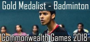 Satwiksairaj Rankireddy Wins Gold Medal in Commonwealth Games 2018 for Badminton