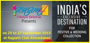 Season 4 Lifestyle Exhibition in Ahmedabad by Orchids Events & Exhibition