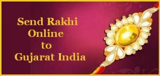 Send Rakhi to Gujarat - Send Rakhi Online to Gujarat India