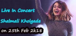 Shalmali Kholgade Live In Concert 2018 in Vadodara - Date and Venue Details