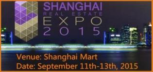 Shanghai Real Estate Expo 2015 at China on 11 to 13 September