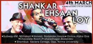 Shankar Ehsaan Loy Live in Concert Ahmedabad on 4 March 2015