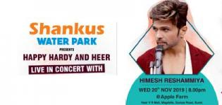 Shankus Water Park Presents Himesh Reshammiya Live in Concert 2019 in Surat on 20 Nov.