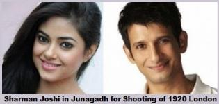 Sharman Joshi in Junagadh Gujarat for Shooting of 1920 London