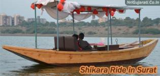 Shikara Ride in Surat Gujarat at Tapi Causeway by Blues Adventures