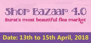 Shor Bazaar 4.0 Flea Market 2018 in Surat at Dumas Road on 13th April
