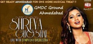 Shreya Ghoshal in Ahmedabad 2018 - Shreya Ghoshal Live in Concert Ahmedabad on 3rd June
