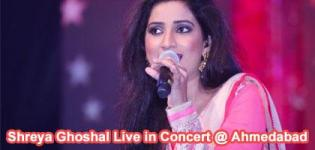 Shreya Ghoshal Live in Concert 2016 in Ahmedabad at Sardar Patel Stadium