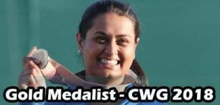 Shreyasi Singh Wins Gold Medal in Commonwealth Games 2018 for Shooting