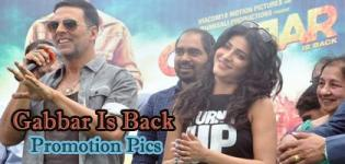 GABBAR IS BACK Movie Promotion Pics 2015 - Shruti Haasan and Akshay Kumar