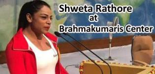 Shweta Rathore at Spiritual Art Gallery Brahmakumaris Centre for National Sport Conferance