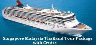 Singapore Malaysia Thailand Tour Package with Cruise - Cruise Ship Tour