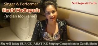 Singer Harshi Madhaparia will Judge SUR GUJARAT KE Singing Competition in Gandhidham - June 2015