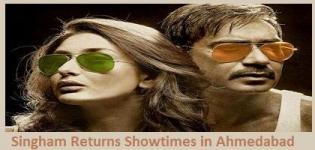 Singham Returns Showtimes Ahmedabad-Show Timing Online Booking in Ahmedabad Cinemas Theatres