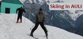 Skiing in Auli India - Fully Adventure Skiing in Auli Uttarakhand