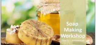 Soap Making Workshop - Creative Art Learning Session Arrange for People in Ahmedabad