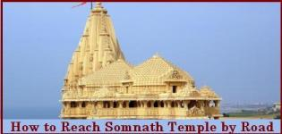 How to Reach Somnath Temple by Road