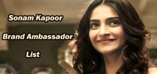 Sonam Kapoor Brand Ambassador List - Endorsement Photo Gallery
