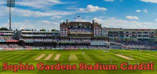 Sophia Gardens Stadium ICC Champions Trophy 2017 Match Schedule in Cardiff Wales