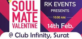 Soul Mate 2019 Valentine Day Party in Surat at Club Infinity with DJ Jenis