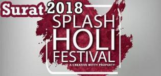 Splash Holi Festival 2018 in Surat at Rainbow Club Resort on 2nd March