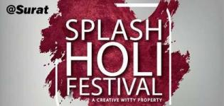 Splash Holi Festival Celebration 2018 in Surat at Rainbow Club Resort