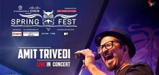 Spring Fest 2016 Live in Concert in Kharagpur by Amit Trivedi at Jnan Ghosh Stadium
