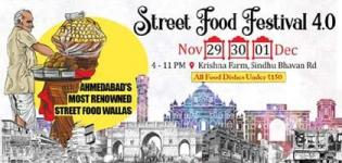 Street Food Festival 4.0 2019 in Ahmedabad at Krishna Farm from 29th Nov to 1st Dec