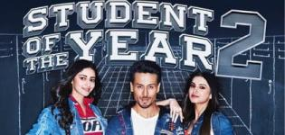 Student of the Year 2 Hindi Movie 2019 - Release Date and Star Cast Crew Details