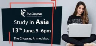 Study in Asia Seminar for Student Arrange for Carrier Guidance in Ahmedabad