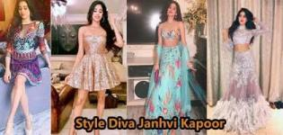 Style Diva of Bollywood Janhvi Kapoor - Different Looks of Janhvi Kapoor