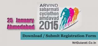 Submit Arvind SABARMATI Cyclothon Amdavad 2015 Registration Form before Last Date