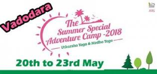 Summer Special Adventure Camp 2018 Vadodara- Date Time and Venue Details