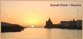 Sunset Point in Dwarka - Sunset Time in Dwarka