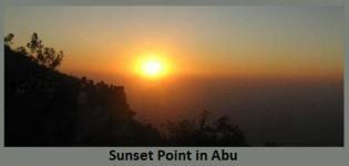 Sunset Point Mount Abu - Sunset Time at Mount Abu