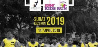 Surat Kids Run 2019 at DE Villa Cricket Ground - Surat Kids Marathon on 14th April