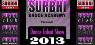 Dance Talent Show 2013 presents by Surbhi Dance Academy Rajkot
