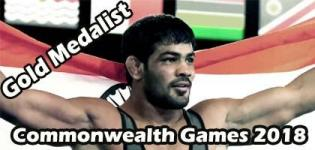 Sushil Kumar Wins Gold Medal in Commonwealth Games 2018 for Wrestling