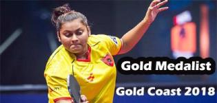 Sutirtha Mukherjee Wins Gold Medal in Commonwealth Games 2018 for Table Tennis