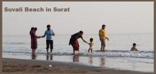 Suvali Beach in Surat Gujarat India - Location Photos of Suvali Beach