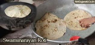 Swaminarayan Roti - Double Pad Ni Rotli - Special Traditional Gujarati Food Type