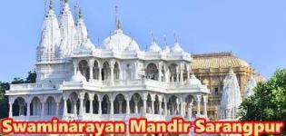 Swaminarayan Temple in Gujarat - Swaminarayan Mandir Sarangpur  Photos - Details