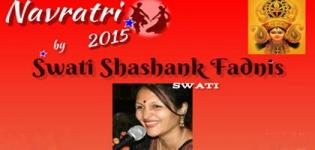 Swati Shashank Fadnis Navratri 2015 in Columbus at Stars Indoor Sports on October