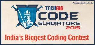 TECHGIG Code Gladiators 2015 - Indias Biggest Coding Contest Presents By WIPRO