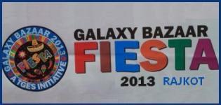 TGES GALAXY BAZAAR FIESTA 2013 in SNK School Rajkot