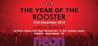 THE YEAR OF THE ROOSTER - New Year Party in Ahmedabad at Aangan Banquet