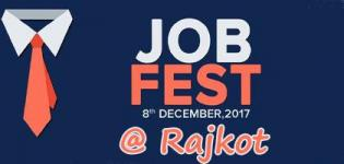 TOPS Job Fest in Rajkot 2017 at Neptune Tower - Date and Details