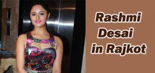 TV Serial Actress Rashami Desai in Rajkot at Fashion Mantra Exhibition 2017