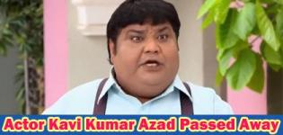 Taarak Mehta Ka Ooltah Chashma Actor Dr. Hansraj Hathi Passed Away on 9th July 2018 - Kavi Kumar Azad Death News